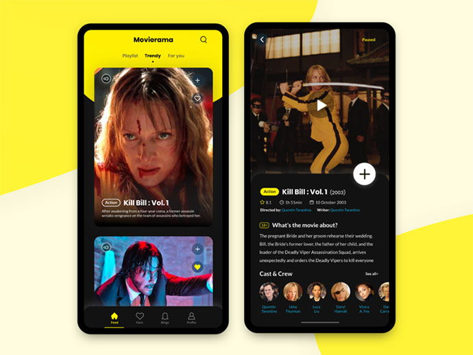 Movierama Mobile App