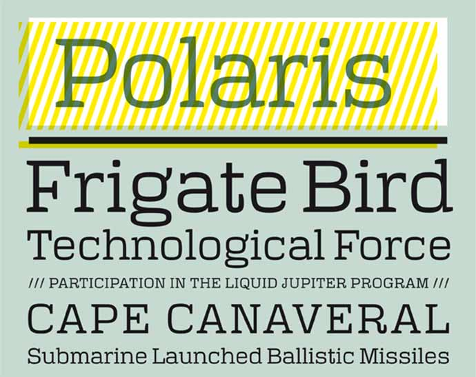Typeface Polaris (Free)