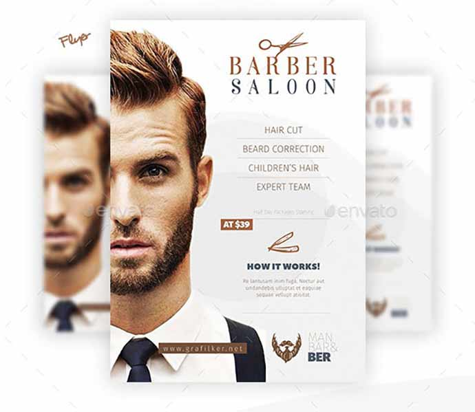 Barber Saloon Bundle Templates