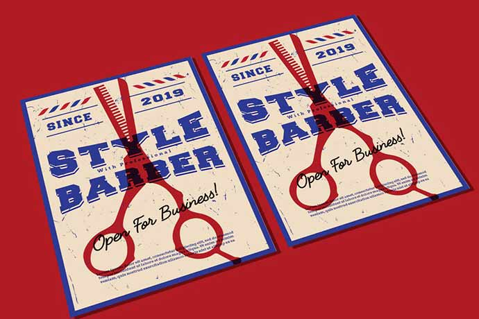 Barber Style Flyer