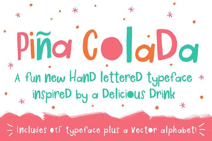 Pina Colada Font