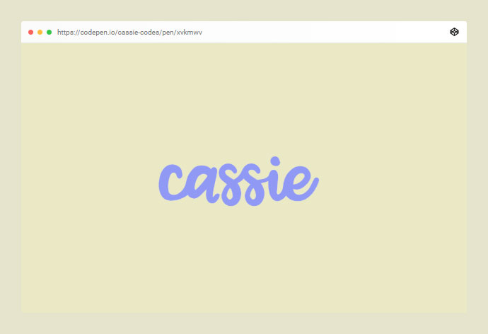 Cassie!