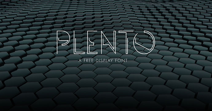 Plento — Free Typeface