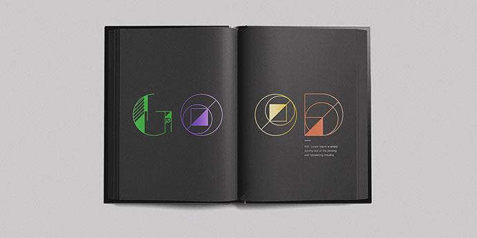 Geom Display Typeface: Free