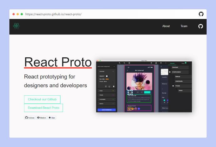 React Proto