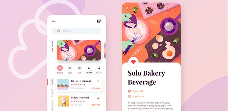 40 Fantastic Food & Drink Mobile App UI Design Examples