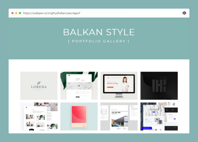 Balkan Style - Portfolio Gallery