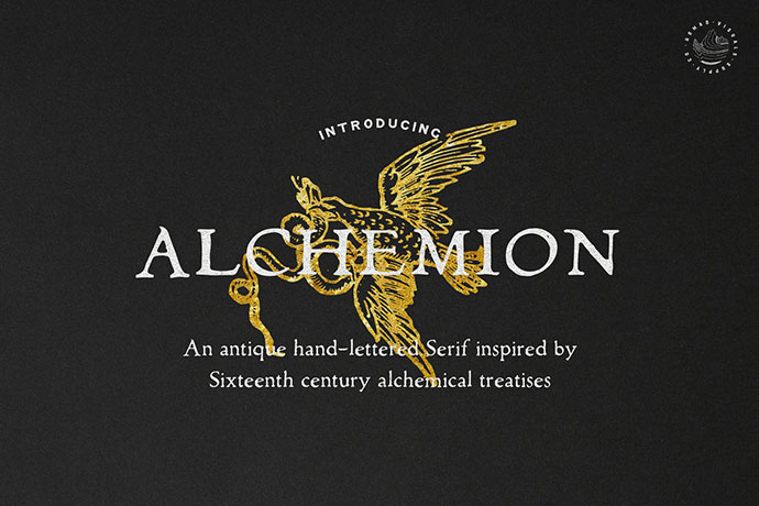 Alchemion - Display Serif Font