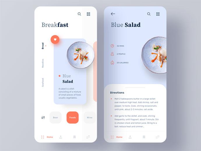 Cooking Recipe App