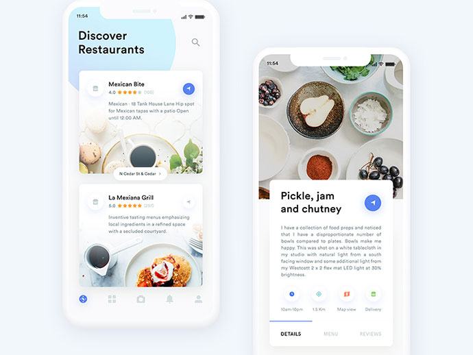 Restaurants App Exploration