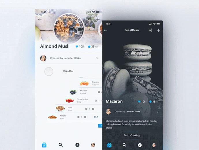 Feastdraw - Recipe App