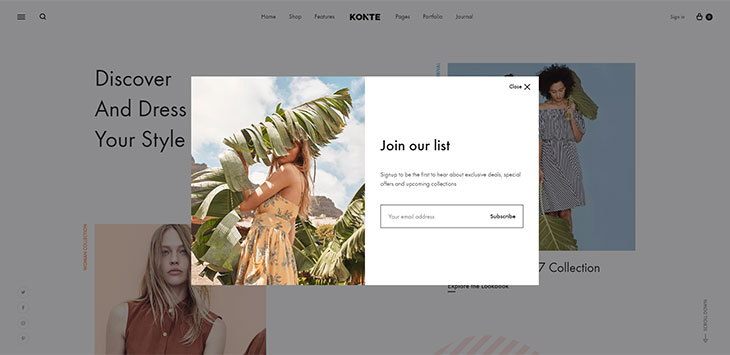 20 Ecommerce WordPress Themes with Highly Converting Popup Designs