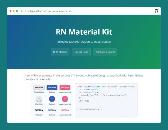 React Native Material Kit