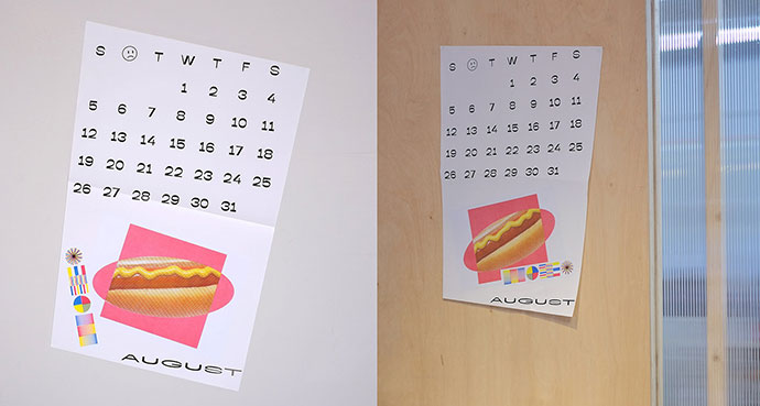 Obj3ct '18 Calendar