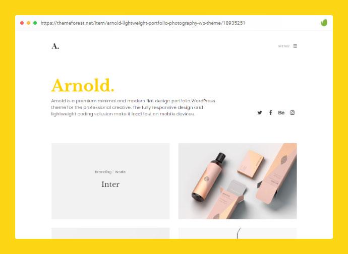 Minimalist WordPress