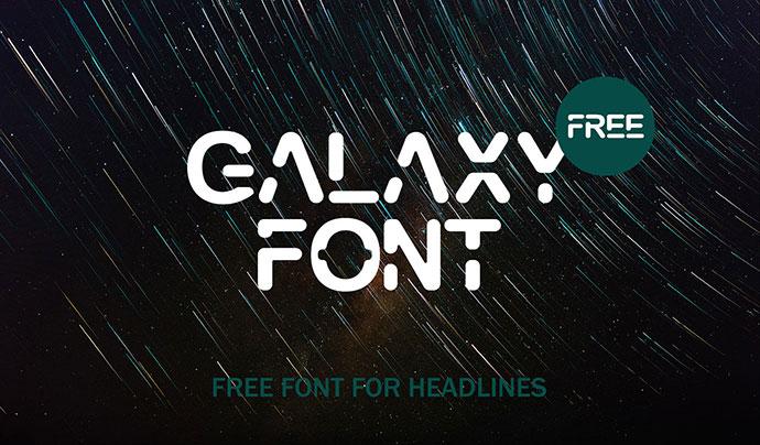 Galaxy Font (Update)