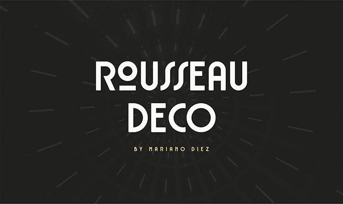 Rousseau Deco | Free Font