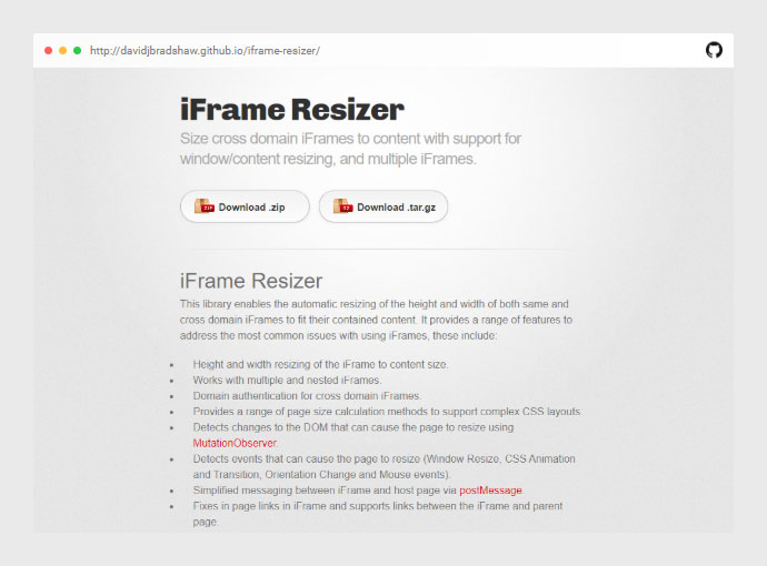 Iframe Resizer