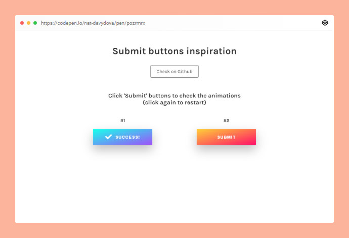 Submit Buttons Inspiration