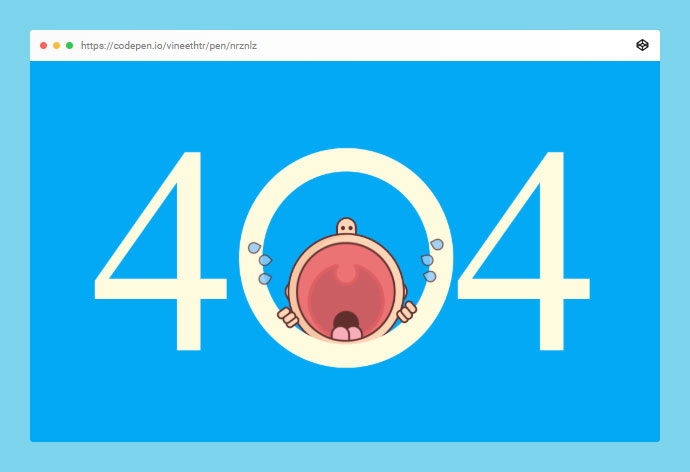 404 Crying Baby
