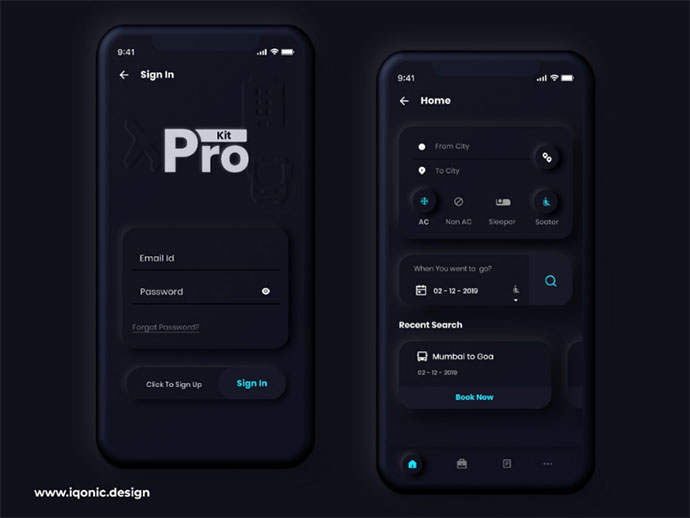 Prokit - Android & Ios Ui Kit