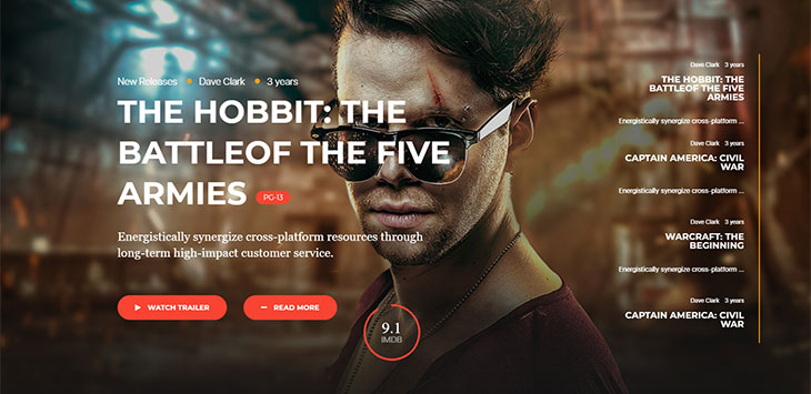 20 Awesome WordPress Themes for Movie Blogger
