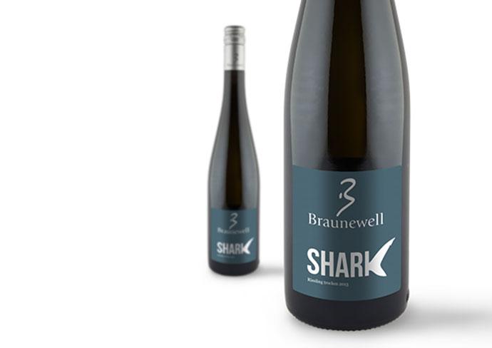 Label Wine 'Shark'