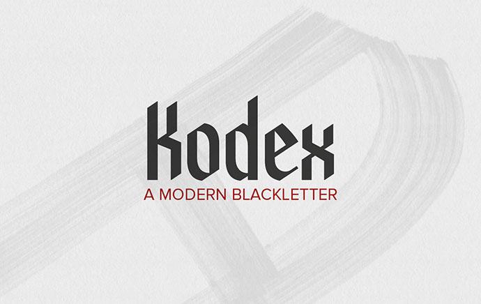 Kodex - Free Font
