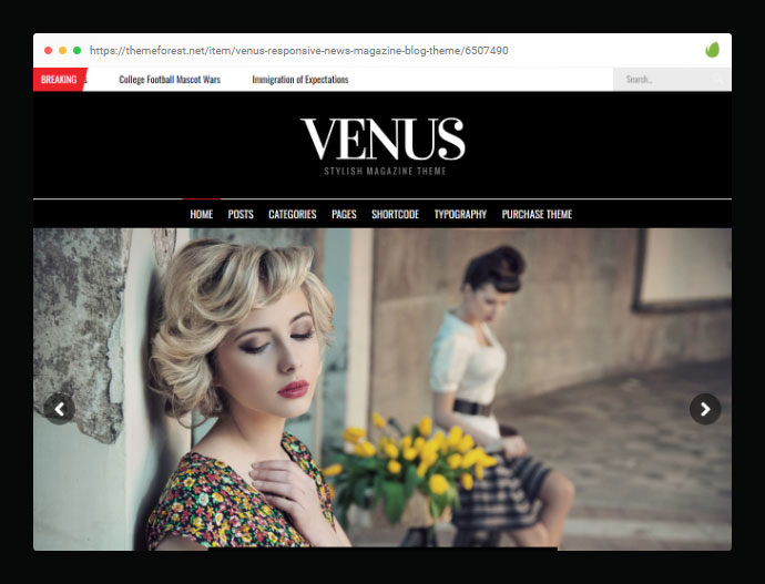 Venus | News Magazine Blog WordPress