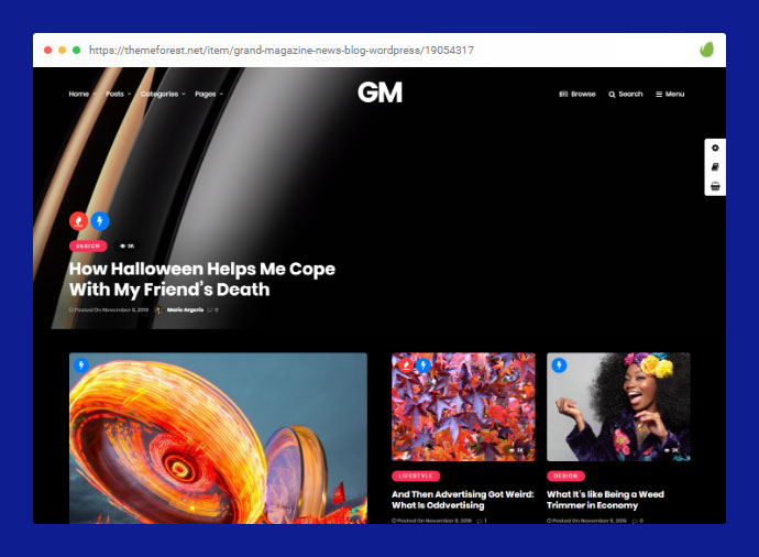 Grand Magazine | Blog WordPress