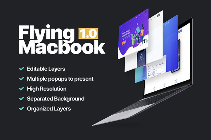 Macbook Mockup 1.0
