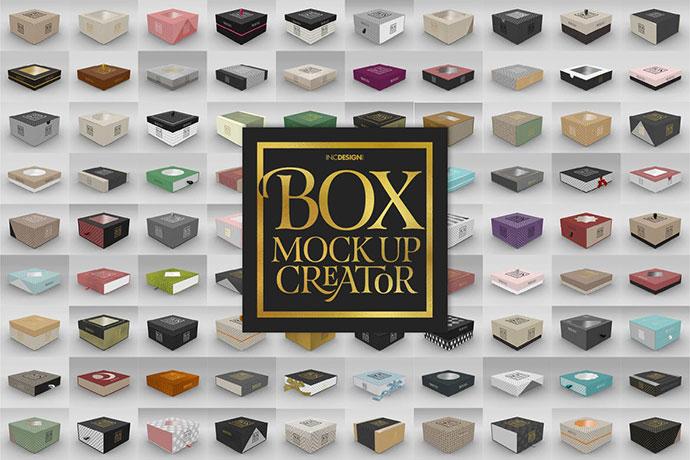 Box Mockup Creator