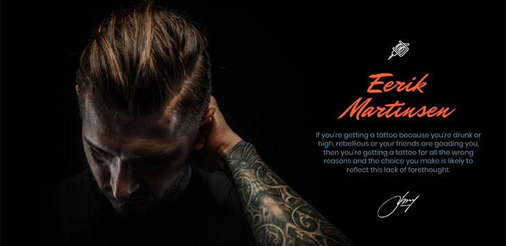 15 Cool WordPress Themes for Tattoo Artist