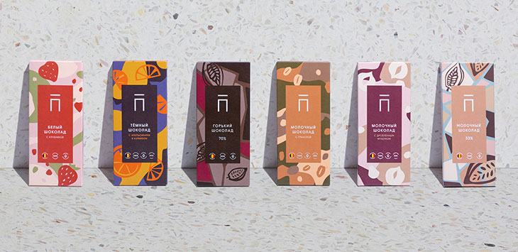 25 Cool Packaging Designs with Fun Pattern Shapes