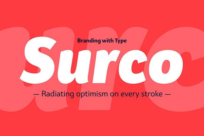 Bw Surco Font Family