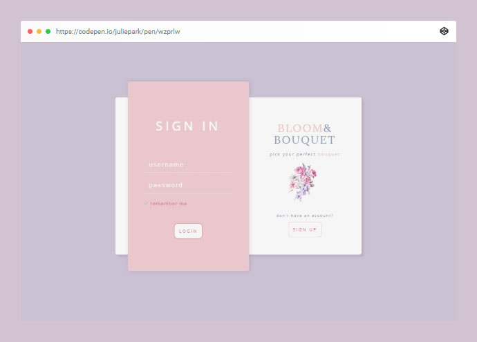 Dailyui #001 | Sign Up Form