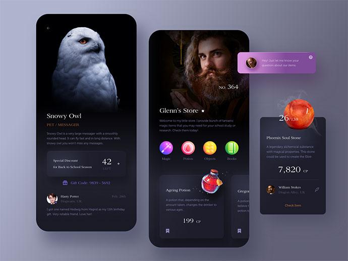 Magic Store App.