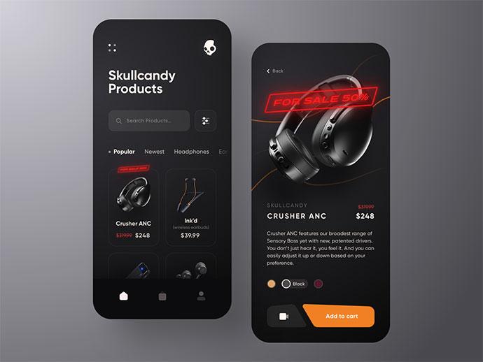 Skullcandy Online Store App