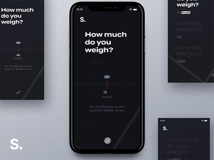Ios App Onboarding Concept