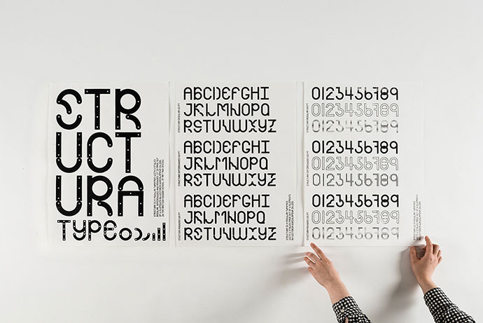 Structura — Modular Typeface