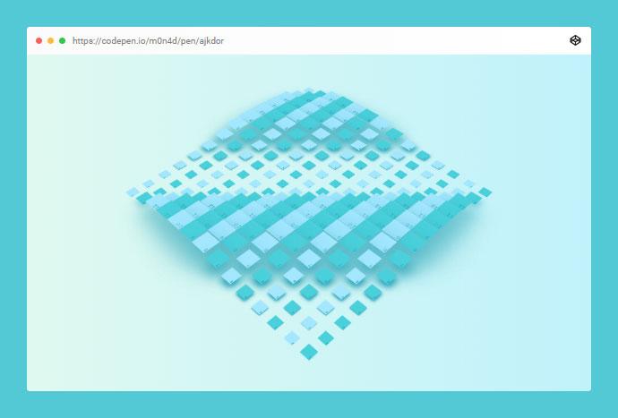 CSS Grid Wavepool