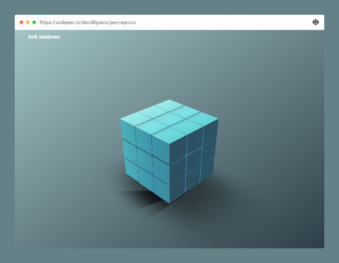 CSS-only Cube Pack