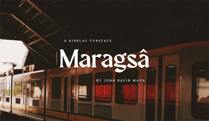 Maragsa — A Display Typeface