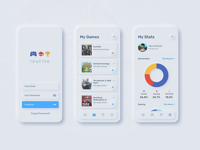 Ui For Tracking Project