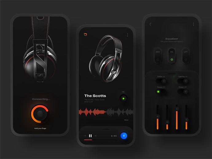 Headphone Controller App
