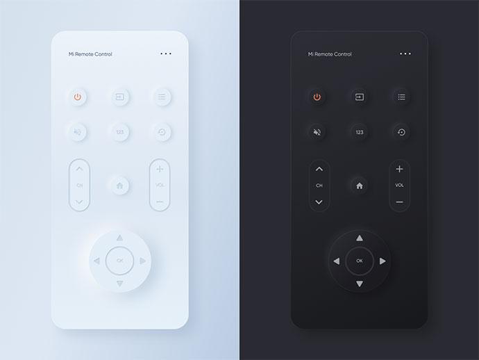 Mi Remote Control Mobile App