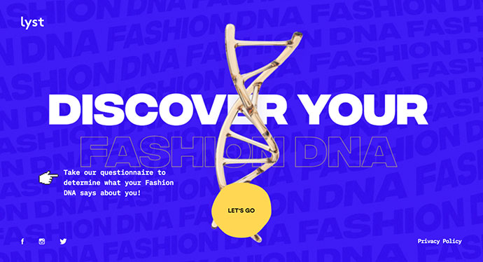 Lyst Fashion DNA