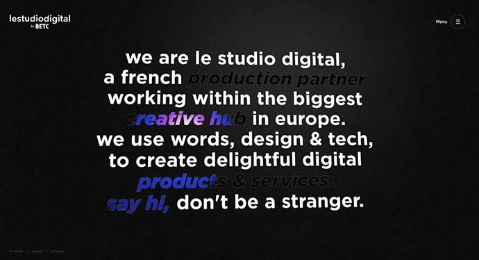 Le Studio Digital