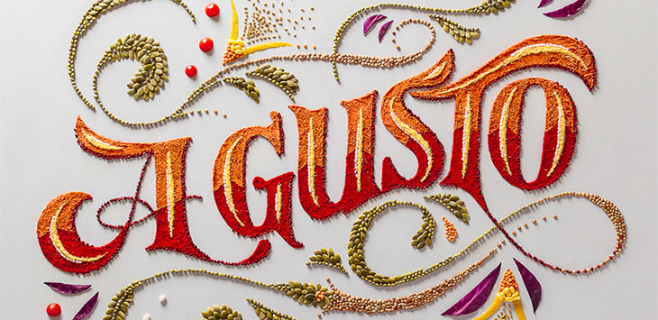25 Creative Examples of Tactile Typography