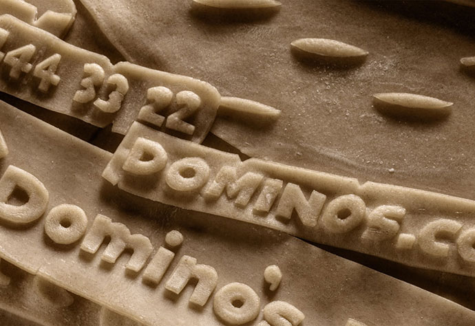 Dominos Posteros - First Real Dough Poster
